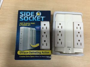 Hot Sale American Standard 6 Way Side Socket Extension Socket pictures & photos