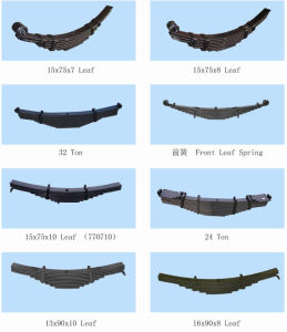 Trailer Suspension Leaf Spring pictures & photos