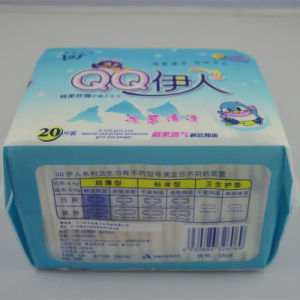 Anion Sanitary Napkins /Ultra Thin Super Absorbent Sanitary Pads (E606) pictures & photos