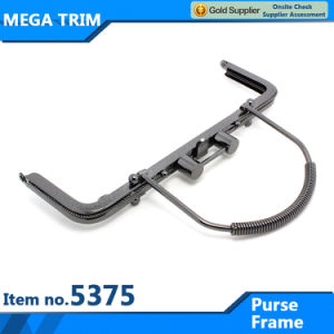 Skid Resistance Handle for Classical Look Purse Frame Purse Frame Handle with Special Lock pictures & photos
