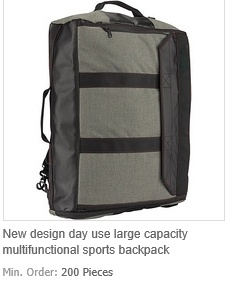 Day Use Large Capacity Multifunctional Sports Backpack