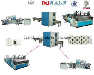 High Performance Toliet Paper Kitchen Tissue Towel Paper Production Line pictures & photos