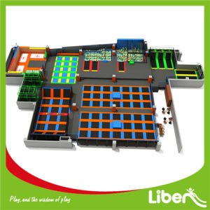 Customized Big Buy Indoor Trampoline World for Kids and Adults pictures & photos