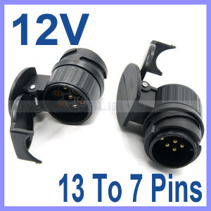 12V 13 to 7 Pins Plug Adapter Electrical Converter Truck Trailer Connector E1xc pictures & photos