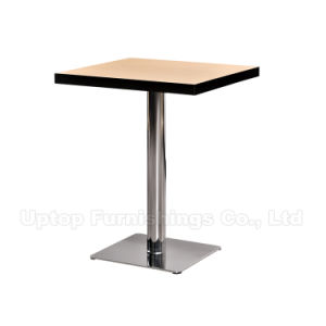 Widely Used Laminate Dining Fast Food Cafeteria Table (SP-RT458) pictures & photos