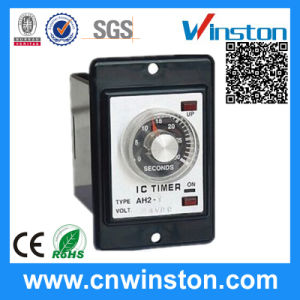 Flush Type Mounting Electric Adjustable Time Delay Relay with CE pictures & photos