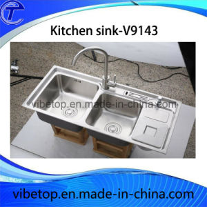 High Quality Stainless Steel Double Sinks pictures & photos