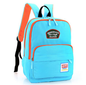 New Fashion Canvas Leisure Bag Women Backpack pictures & photos