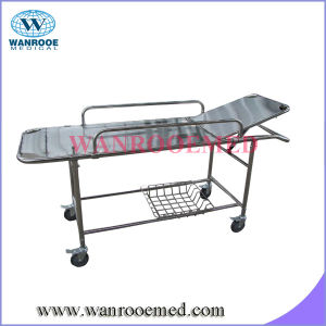 Stainles Steel Patient Trolley for Transferring pictures & photos