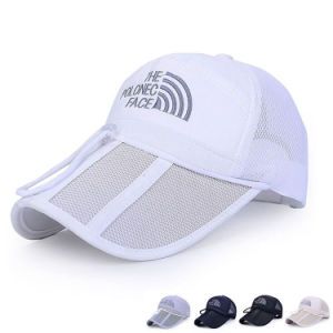 Promotional Embroidered Mesh Baseball Cap with Drawstring Against Wind (YKY3404) pictures & photos