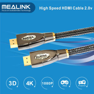 High Speed HDMI Cable 1.4 with Ethernet (M/M HDMI to HDMI, YLC-8011A) pictures & photos