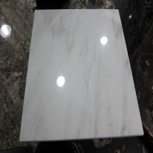 Polished/Natural/Starry White Marble Tiles for Showroom/Bathroom/Kitchen/Wall Tiles pictures & photos