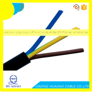 High Quality Copper Conductor H05VV-F/H03VV-F Flexible Cable pictures & photos