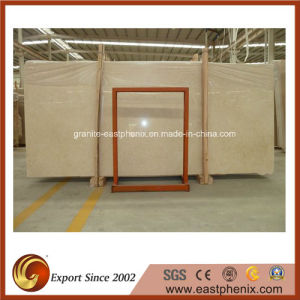 Natural Galala Beige Marble Slab for Countertop, Bathroom/Kitchen Wall Tile pictures & photos