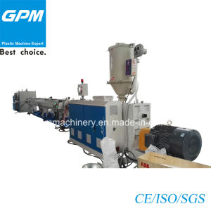 PVC Double Wall Corrugated Pipe Extrusion Line pictures & photos