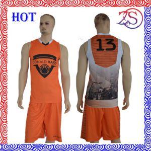 Uniform Design Any Logo Cheap Custom Basketball Jersey pictures & photos