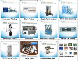 Lithium Ion Battery Machines for The Whole Battery Production Line pictures & photos