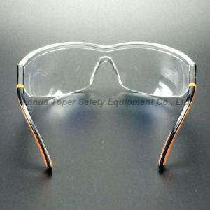 Wraparound Lens Ajustable Nylon Temples Safety Glasses (SG109) pictures & photos