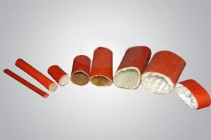 Silicone Fiberglass Sleeve/ Fireproof Sleeve pictures & photos