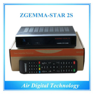 Zgemma Star 2s Satellite Receiver Dual Core Linux OS Enigma2 DVB-S2+S2 pictures & photos