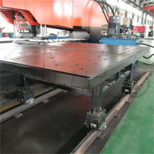 Special Thick Steel Plate Hydraulic CNC Turret Punching Machine Price pictures & photos
