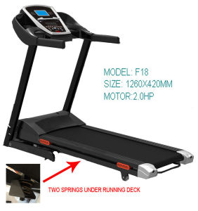 China 2 0hp Small Running Machine Motorized Treadmill