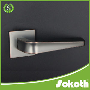 Orb Color Zinc Door Handle for Wooden Door pictures & photos