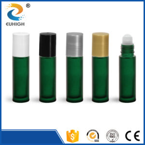 10ml Green Color Roll on Glass Bottle for Perfume Packing