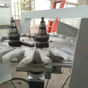 CNC Machining Center for Acrylic, PVC, MDF, Plastic with 8 Tools pictures & photos