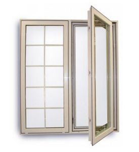 Decorative Glass Aluminum French Casement Window pictures & photos