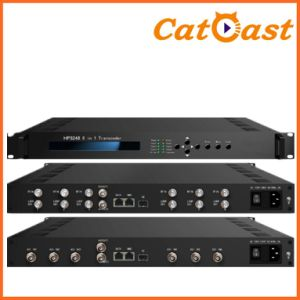 8 in 1 Transcoder (MPEG-2/H. 264 HD/SD any to any) pictures & photos