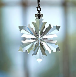 Handmade Clear Crystal Lighting Pendants Crystal Snowflake Pendants pictures & photos
