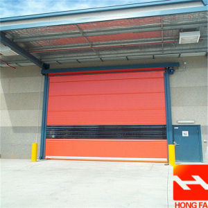High Quality Electric High Speed Roll up Door (HF-K438) pictures & photos