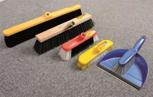 Cleaning Products Long Soft Bristle Broom Head Industrial pictures & photos