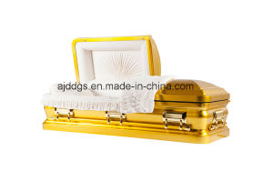 Amercian Style Gold Casket (16179055) pictures & photos
