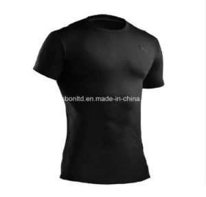 Under Armour Tactical Compression Heatgear Tee Black pictures & photos