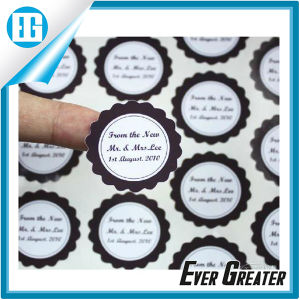 Promotional Gift Printing Label Adhesive PVC Sticker Label pictures & photos