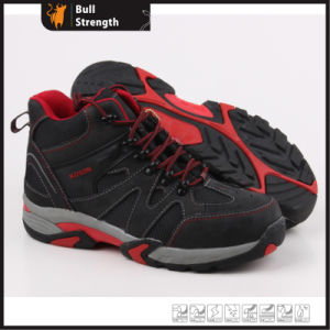 Sport Style Safety Shoe with Nubuck Leather and EVA&Rubber (SN5264) pictures & photos