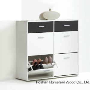 Color Mix Fashion Style Shoe Storage Cabinet (HF-EY08143) pictures & photos