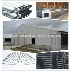 2015 Prefabricated Steel Chicken Broiler House Design pictures & photos