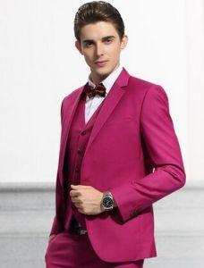 2016 Autumn Style Men′s Fashion Wedding Suit pictures & photos