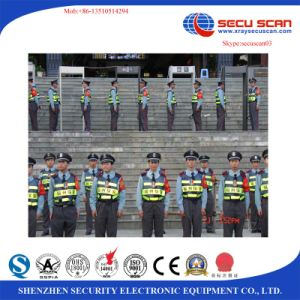 6, 12, 18 Zones Adjustment Security Gate for Metal Detecting pictures & photos