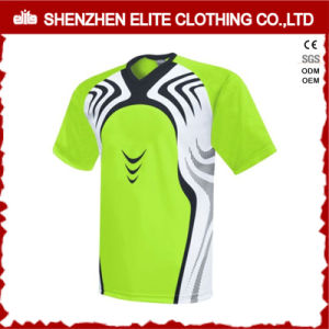 Breathable Dri Fit Polyester Soccer Jersey pictures & photos