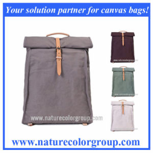 Vintage Leisure School Canvas Backpack for Women pictures & photos