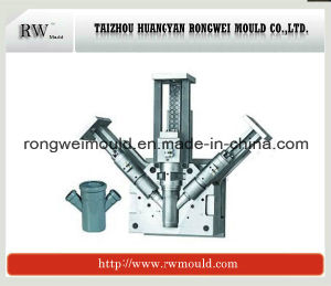 Plastic PP Tee Pipe Fitting Injection Mould