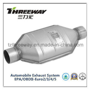 Car Exhaust System Three-Way Catalytic Converter #Twcat015 pictures & photos