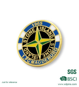 Custom Rugby Club Pin Badge with Your Own Logo pictures & photos
