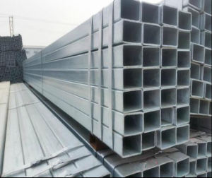 Building Material Q195/Q235 Welded Pre Galvanized Square Pipe/Steel Tube pictures & photos