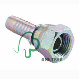 Bsp Female 60 Degree Cone Hydraulic Swaged Hose Fitting pictures & photos