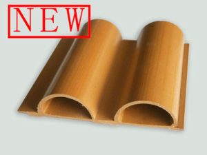 Foshan Composite WPC Outdoor Semi-Circle Wall Cladding with Good Price pictures & photos